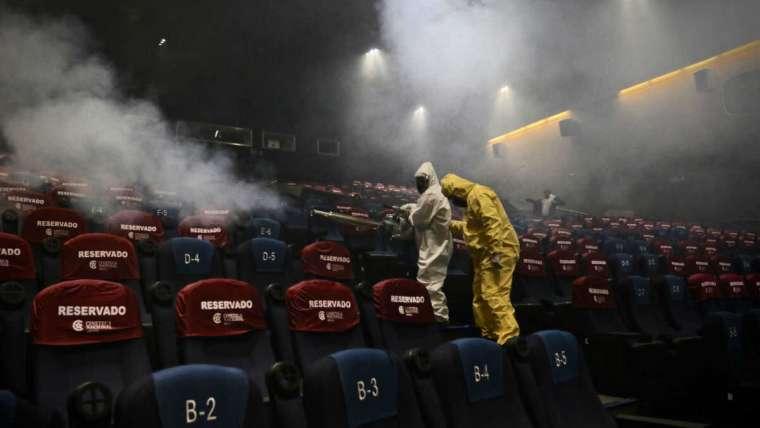 Canacine prepara la reapertura de las salas de cine en México